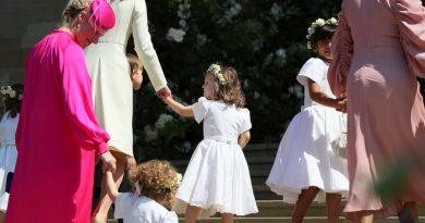 Protagonistët e vegjël të dasmës mbretërore (FOTO)