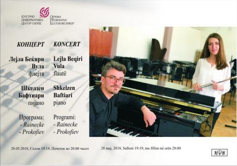 QIK: Koncert i Lejla Beqirit dhe Shkëlzen Baftiarit