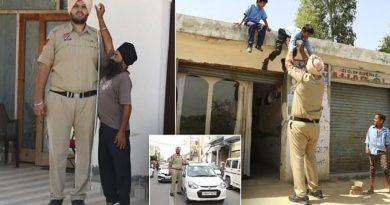 Polici rrugor 2.3 metra i gjatë e që peshon 190kg (FOTO)