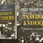 """""""Instinkti i vdekjes"""", i vjen në dorë lexuesit shqiptar"""