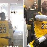 """LeBron """"zbarkon"""" në LA, zhvillon stërvitjen e parë me Lakers (VIDEO)"""