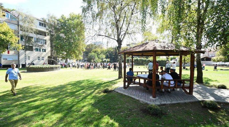 U përurua parku i Lagjes Dizhon (FOTO)