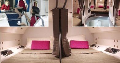 Arsyeja pse stjuardesat i mbajnë duart mbrapa të lidhura
