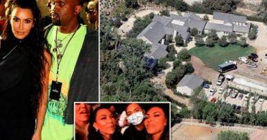 Kim Kardashian pas djegjes së shtëpis, punëson zjarrfikës privat