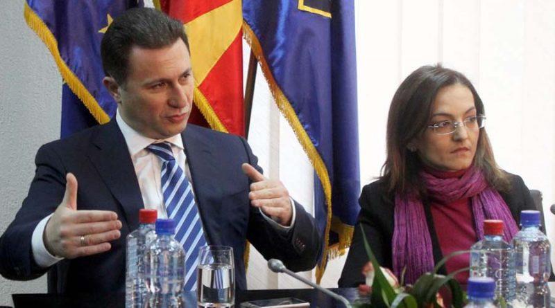 Edhe Jankullovska dënon ikjen e Gruevskit