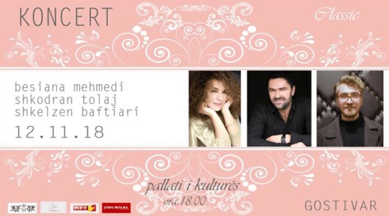 """""""Vala Kulturore"""", koncert në Gostivar, performojnë, Besiana Mehmedi, Shkodran Tolaj dhe Shkëlzen Baftiari"""