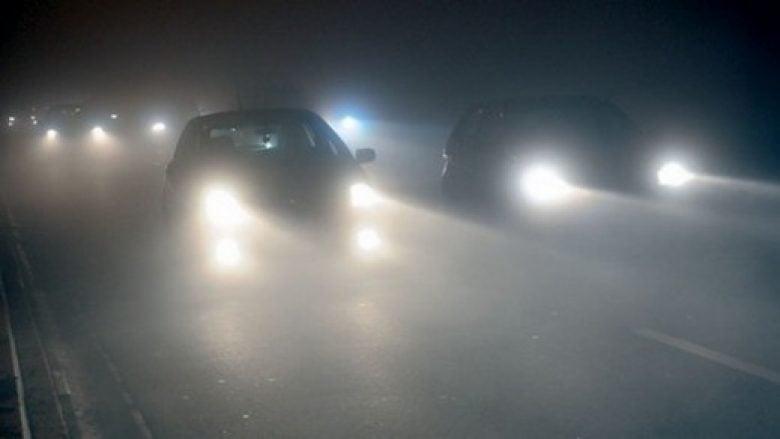 Dendësi të mjegullave në rrugën Mavrovë-Strazhë