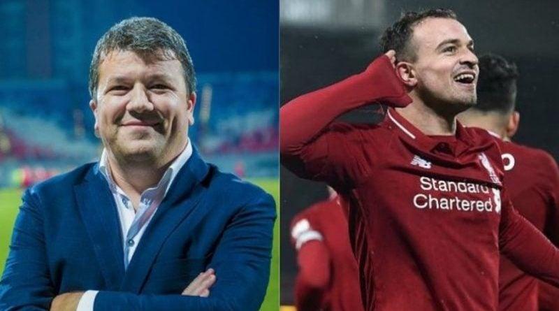 Komentatori shqiptar shpërthen në lot pas golave të Shaqirit