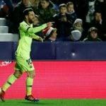 Messi dhuron spektakël ndaj Levantes së Bardhit (VIDEO)