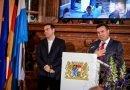 """Zaev dhe Cipras shpërblehen me """"Evald Fon Klajst"""" për kontributin ndaj paqes botërore"""