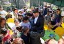 """Qyteti i Shkupit organizoi vizitë në kopshtin zoologjik për qendrën ditore """"Fëmijët në rrugë"""""""