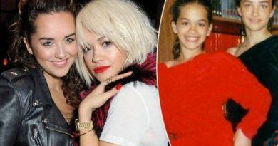 Nëna e Rita Orës publikon foto të vajzave kur ishin të vogla