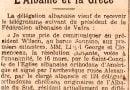 Kur Noli i shkruante liderëve botëror kundër kryeministrit grek