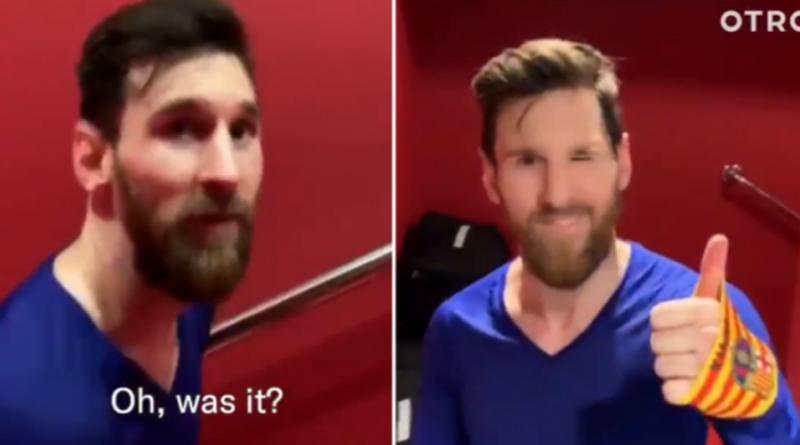 Videoja që tregon se Messi nuk brengoset për statistika individuale