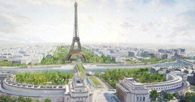 """Gjelbërimi """"mbyt"""" Kullën Eiffel"""