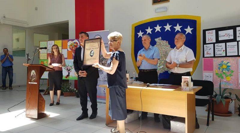 Edi Shkuriu, laureate e Çmimit 'Beqir Musliu'