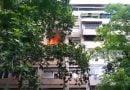 Zjarr në një apartament në Kisela Vodë (VIDEO)