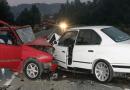 Pesë persona janë lënduar lehtë në aksidente në Shkup