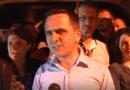 Kasami me bashkëpartiak proteston para Stacionit policor në Tetovë