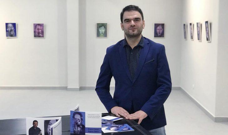 Agron Saliu në Cite International des Arts në Paris