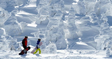 """""""Monstrat e borës"""", fluks turistësh për të takuar """"fantazmat"""" (FOTO)"""