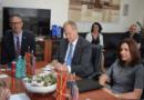 Ministrit Milevski priti në takim ambasadoren amerikane