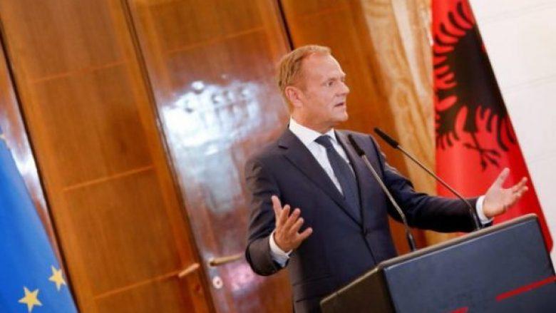 Tusk nga Tirana  Nuk ka Evropë të sigurt pa integrimin e Ballkanit