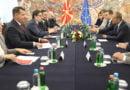 Pendarovski – Tusk: Qytetarët e Maqedonisë së Veriut meritojnë ardhmëri evropiane