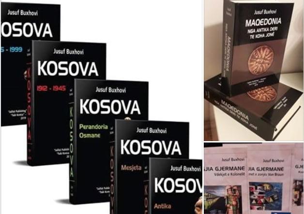Historiani dhe shrimtari Buxhovi me tri vepra premiera në Panairin e Tiranës