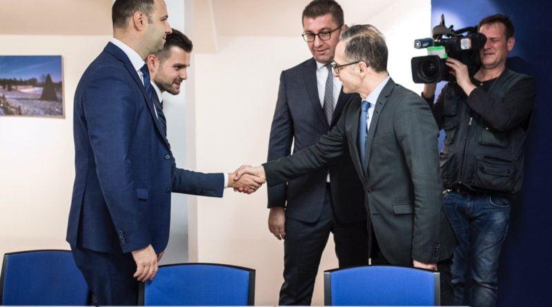 Kreu i VMRO, Mickoski takohet me Hajko Mas