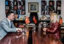 Dimitrov në takim lamtumirës me ambasadoren turke, Tylin Erkal Kara