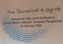 """Konferenca """"Nga Selaniku deri në Zagreb"""": BE-ja të sjellë vendim për fillimin e negociatave me Shkupin dhe Tiranën në mars"""