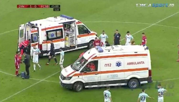 Bie pa ndjenja në fushë, dy ambulanca futen për t'i shpëtuar jetën (VIDEO)