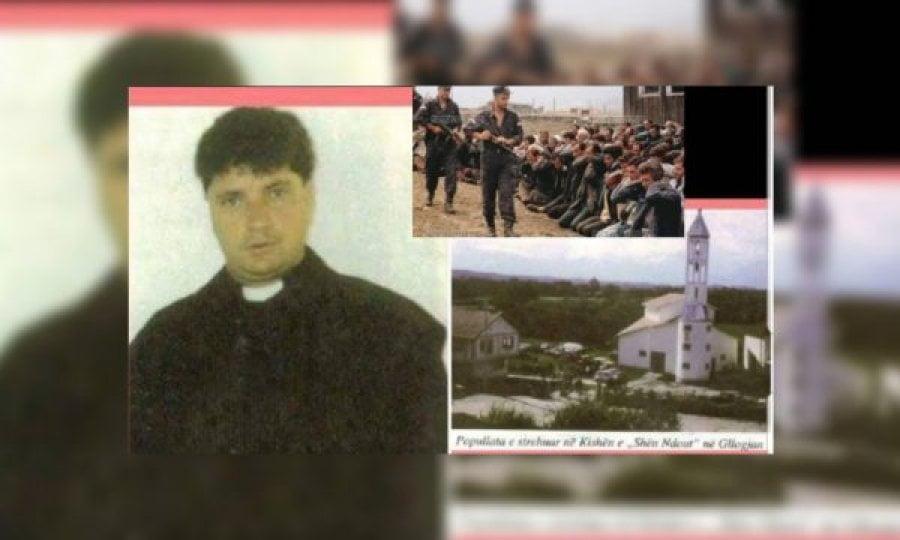Kur serbët e vranë priftin e Gllogjanit