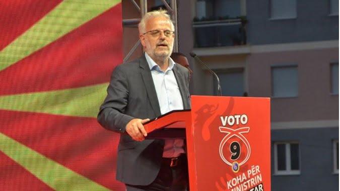 Xhaferi nga Ohri  Zaevi t u kërkon falje shqiptarëve
